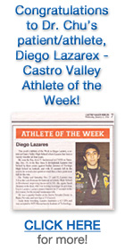 Diego Lazares - Athlete of the Week